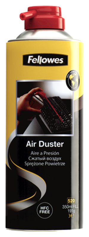 AIR DUSTER FELLOWES HFC FREE 350ml  (prices excludes gst)