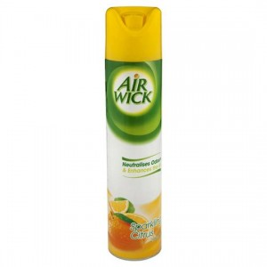 AIRFRESHENER AIR WICK AEROSOL SPARKLING CITRUS 237g (price excludes gst)