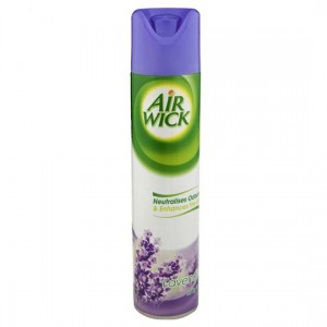 AIRFRESHENER AIR WICK AEROSOL LAVENDER 237g (price excludes gst)