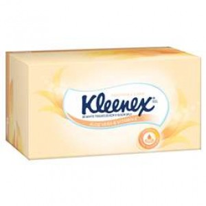 TISSUES KLEENEX ALOE 95's  (price excludes gst)
