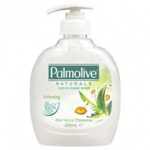 LIQUID HAND SOAP ON TAP PUMP PALMOLIVE ALOE 250ml (price excludes gst)