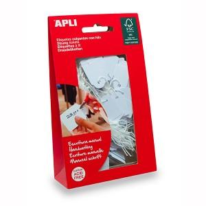 APLI STRUNG TICKET 22mm x 35mm WHITE  Bag 100