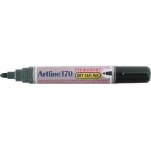 ARTLINE 170 INDUSTRIAL MARKER BULLET NIB 2mm BLACK  (BOX 12)