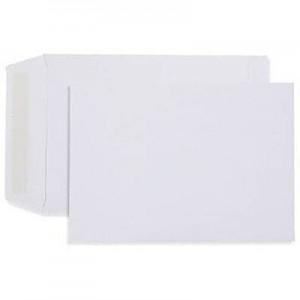 ENVELOPES B5 (250mm x 176mm) WHITE Peel-N-Seal Box 250