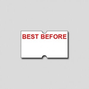BEST BEFORE FREEZER GRADE LABEL PRICEMARK 21x12  Box 10