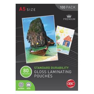 LAMINATING POUCHES A5 80 Micron Box 100