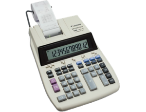 CANON BP-1200DTS PRINTING CALCULATOR (price excludes gst)