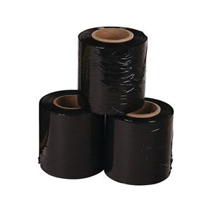 HAND BUNDLING FILM 100mm x 250m BLACK 50mm Core
