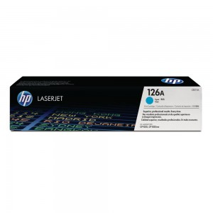 HP CE-311A (126A) CYAN TONER CARTRIDGE (price excludes gst)
