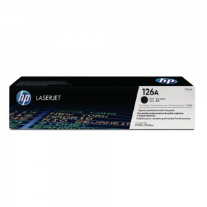 HP CE-310A (126A) BLACK TONER CARTRIDGE  (price excludes gst)
