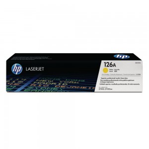 HP CE-312A (126A) YELLOW TONER CARTRIDGE (price excludes gst)