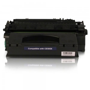 COMPATIBLE HP LASER TONER CE-505X HI-YIELD 6,500 Pages  (Price excludes GST)