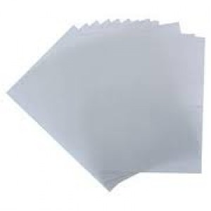 COMB BINDING COVER A4 CLEAR PVC PKT 25 (price excludes gst)