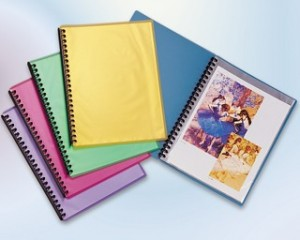 DISPLAY BOOK A4 REFILLABLE COOL FROST BLUE (price excludes gst)