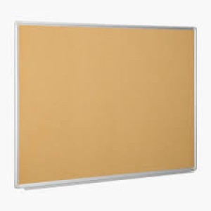 CORKBOARD 600mm X 450mm METAL FRAME DELI (price excludes gst)