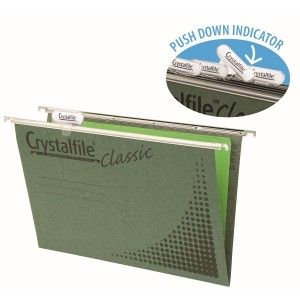 CRYSTALFILE CLASSIC COMPLETE W/TABS & INSERTS #111130C Box 50  (price excludes GST)