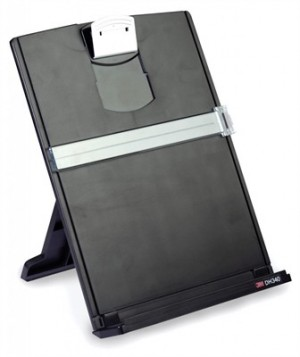 DESKTOP DOCUMENT HOLDER 3M DH340MB BLACK  (price excludes gst)