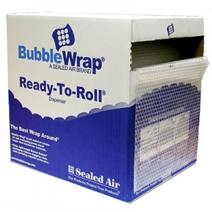 BUBBLE WRAP ROLL 500mm x 50m in Dispenser