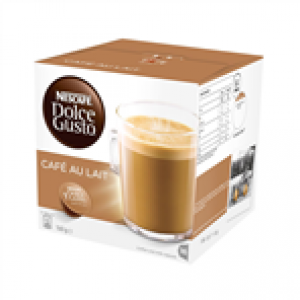 NESCAFE DOLCE GUSTO CAFE AU LAIT COFFEE (16 PODS)