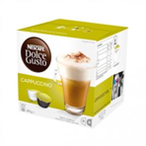 NESCAFE DOLCE GUSTO CAPPUCCINO COFFEE  (16 PODS)