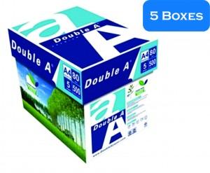 DOUBLE A COPY PAPER A4  5 Boxes