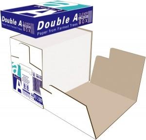 DOUBLE A COPY PAPER A4 CLEVER BOX  (BOX 2500 SHEETS)