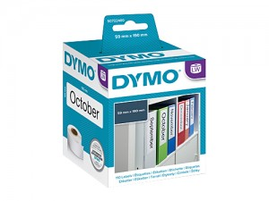 DYMO LABELWRITER S0722480 LEVER ARCH LABEL 59mm x 190mm