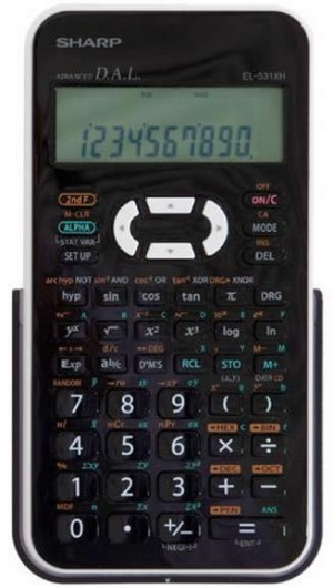 SHARP EL-531 XHBWH Scientific CALCULATOR (price excludes gst)