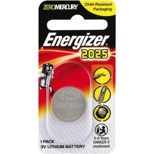 BATTERY ENERGIZER 2025 LITHIUM (PKT 1)