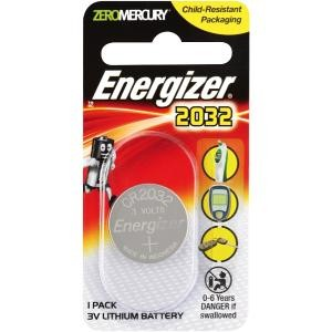 BATTERY ENERGIZER 2032 LITHIUM (PKT 1)