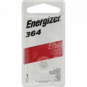 BATTERY ENERGIZER 364 (SR60) SILVER OXIDE (PKT 1)