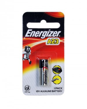 BATTERY ENERGIZER A23 (PKT 1)