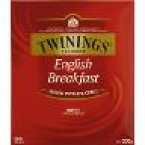 TWININGS ENGLISH BREAKFAST TEA BAGS 100's
