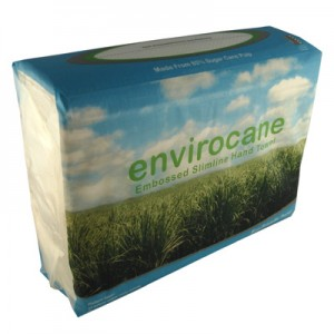 HAND TOWEL ENVIROCANE 2838 16 pkts x 250 sheets  (price excludes gst)