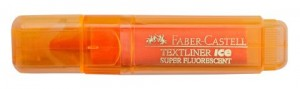 FABER TEXTLINER ICE BARREL ORANGE BOX 10