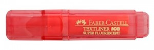 FABER TEXTLINER ICE BARREL RED BOX 10