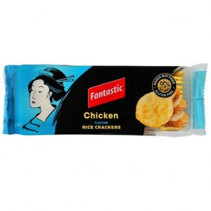 RICE CRACKERS CHICKEN FANTASTIC  (price excludes gst)