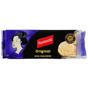 RICE CRACKERS PLAIN FANTASTIC  (price excludes gst)