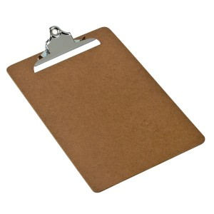 CLIPBOARD MASONITE A4 OLD STYLE CLIP 337114 (price excludes gst)