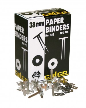 CELCO PAPER BINDERS 38mm #646 (price excludes gst)
