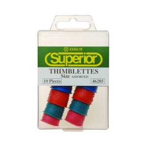FINGER COTS (THIMBLETTES) SIZE ASSORTED (BOX 10) (price excludes gst))