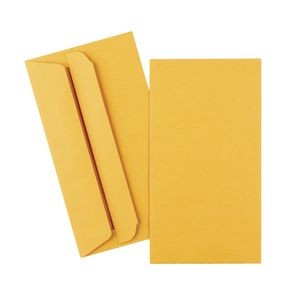 PAY ENVELOPES GOLD 90mm x 145mm PLAIN PRESSEAL Pkt 50  (price excludes gst)