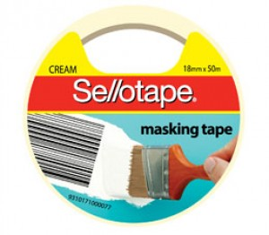 MASKING TAPE SELLOTAPE 12mm x 50m