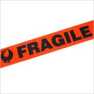 TAPE PRINTED FRAGILE 48mm (price excludes gst)