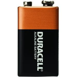 BATTERY DURACELL 9V  (price excludes gst)