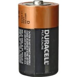 BATTERY DURACELL D (EACH) MN1300 (price excludes gst)