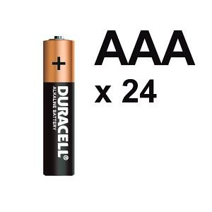 BATTERY DURACELL AAA (BOX 24)