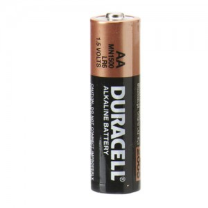 BATTERY DURACELL AA (EACH) MN1500 (price excludes gst)