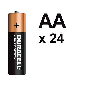 BATTERY DURACELL AA (BOX 24)