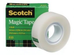 MAGIC TAPE #810 (BOX) 12mm x 33m #70016031976 (price excludes gst)